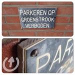 """Asbesthoudend plaatje tussen metalen waarschuwingsbord en houten montageplaat • <a style=""""font-size:0.8em;"""" href=""""http://www.flickr.com/photos/78534169@N04/12429786105/"""" target=""""_blank"""">View on Flickr</a>"""